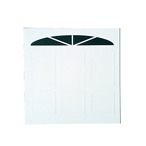 Wickes Bronte Glosswhite Framed Retractable Garage Door 2286 x 1981mm