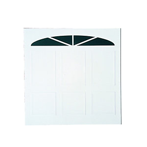 Wickes Bronte Glosswhite Framed Retractable Garage Door 2438 x 2134mm