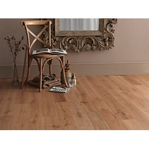 Wickes Montero Oak Real Wood Flooring