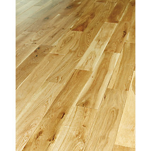 Wickes Medina Oak Solid Wood Flooring