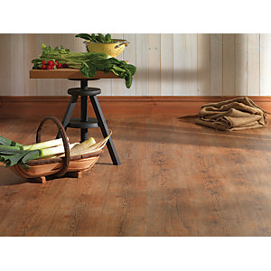 Wickes Niagara Rustic Oak Luxury Vinyl Flooring