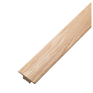 Wickes Solid Oak Threshold Bar 900mm