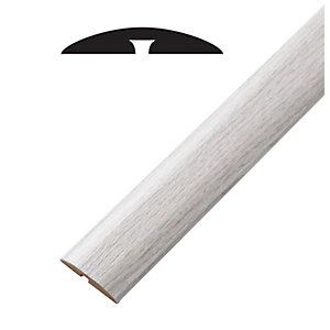 Wickes Aspen Oak Threshold Bar & Reducer 900mm