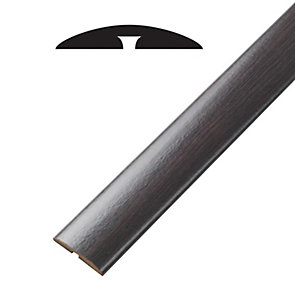 Wickes Reynosa Dark Hickory T-Bar & Reducer 900mm