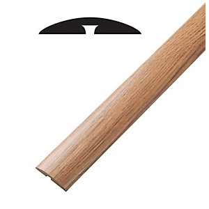 Wickes Aspiran Oak Threshold Bar & Reducer 900mm