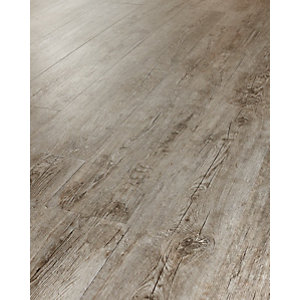 Wickes Caspian Grey Oak Luxury Vinyl Flooring