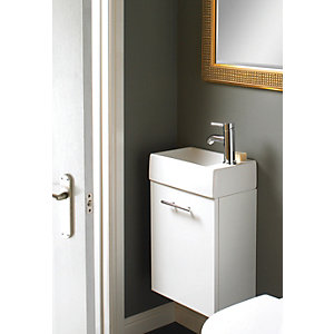 Wickes Mode Compact Vanity unit with Basin (RH)