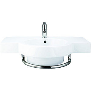 Wickes Sesto Winged Basin 800mm