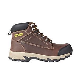 Stanley Milford Brown Safety Boot Size 9