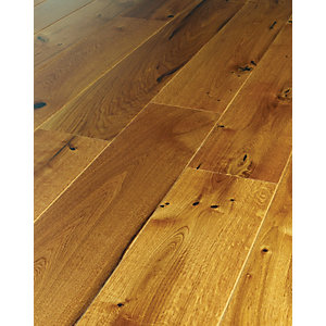 Wickes Kenaro Oak Real Wood Flooring