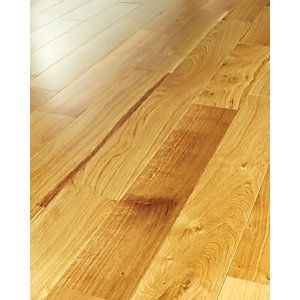 Wickes Havana Oak Solid Wood Flooring