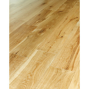 Wickes Kintore Oak Solid Wood Flooring