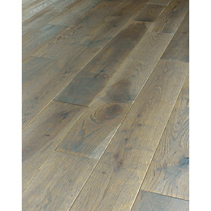 Wickes Arkesia Oak Solid Wood Flooring