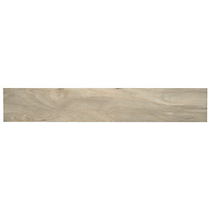 Wickes Self Adhesive Vinyl Plank Silver Wood Effect 7 Pack