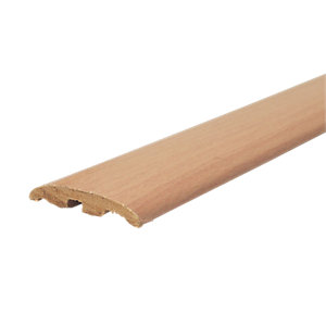 Wickes Beech Effect Threshold Bar & Reducer 900mm