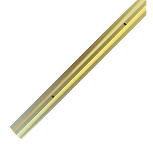 Wickes Flooring Cover Trim Gold 2.4M