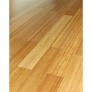 Wickes Vertical Medium Bamboo Solid Wood Flooring