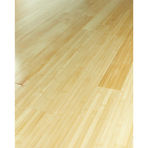 Wickes Natural Bamboo Solid Wood Flooring