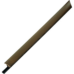 Wickes Flooring T-Bar & Reducer Dark Oak 900mm