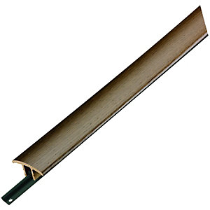 Wickes Flooring T-Bar & Reducer Walnut 900mm