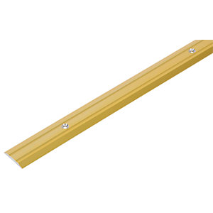 Wickes Vinyl Flooring Edging Strip Gold 900mm