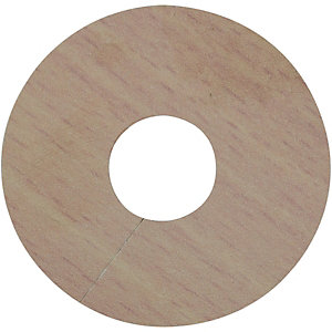Wickes PVC Pipe Surrounds Light Wood Effect 4 Pack