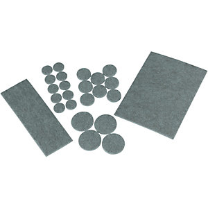 Wickes Felt Flooring Pads Grey 27 Pack