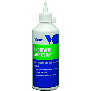 Wickes Laminate & Wood Flooring Adhesive 500ml