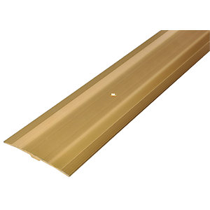 Wickes Flooring Cover Strip Gold 900mm