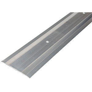 Wickes Flooring Cover Strip Silver 900mm