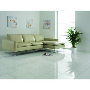 Wickes High Gloss White Laminate Flooring
