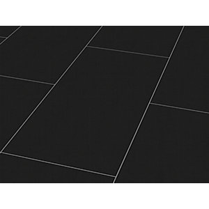 Wickes High Gloss Black Laminate Flooring