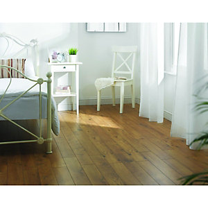 Wickes Cavallo Oak Laminate Flooring