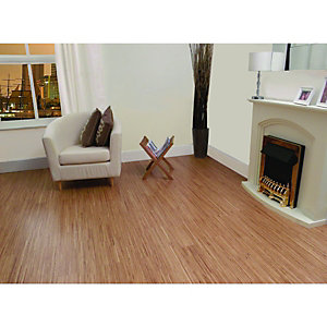 Wickes Fineline Oak Real Wood Top Layer Engineered Wood Flooring