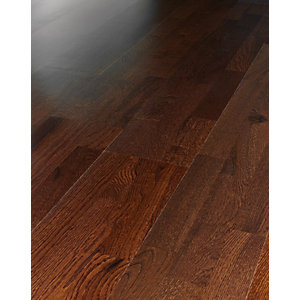 Wickes Merbau Oak Real Wood Top Layer Engineered Wood Flooring