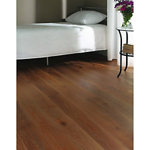 Wickes Chateau Oak Real Wood Top Layer Engineered Wood Flooring