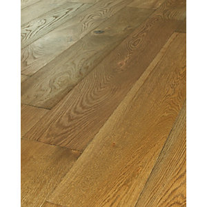 Westco Dark Oak Real Wood Top Layer Engineered Wood Flooring
