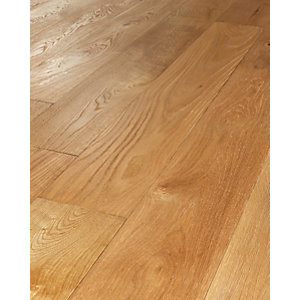Wickes Sunshine Oak Real Wood Top Layer Engineered Wood Flooring