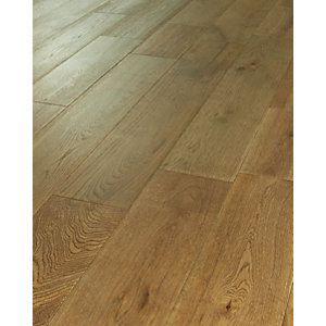 Wickes Dusky Oak Solid Wood Flooring