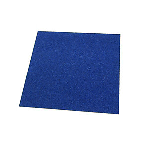 Wickes Carpet Tile Electric Blue 500 x 500mm