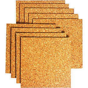 Wickes Sealed Cork Flooring Tile 305x305mm Pack 9