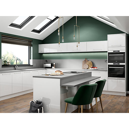 Nordica White Kitchen Range