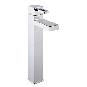 Wickes Teramo Tall Basin Mixer Tap Chrome