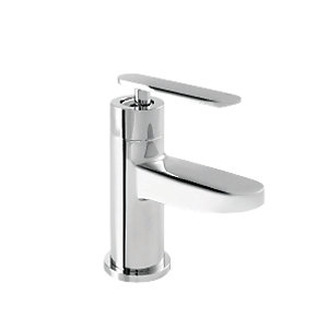 Wickes Breno Mono Basin Mixer Tap Chrome