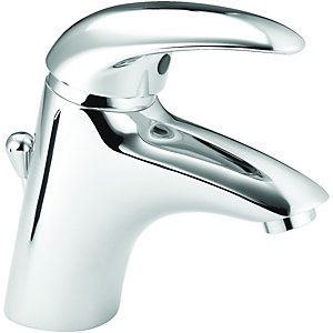 Wickes Orian Compact Mono Basin Mixer Chrome