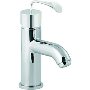 Wickes Samara Basin Mixer Tap Chrome