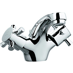 Wickes Orian Contemporary Mono Basin Mixer Chrome
