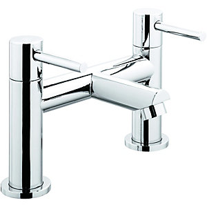 Wickes Mirang Bath Filler Tap Chrome