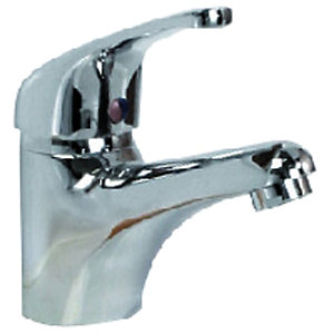 Wickes Eco Taps Mono Basin Mixer Chrome
