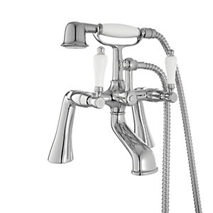 Wickes Enchanted Bath Shower Mixer Chrome